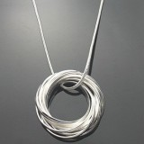 SSN002-925 Sterling Silver Necklace
