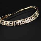 GPB001- 18k Gold Plated Bracelet