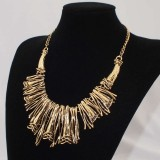 GPN015-Gold Plated Bronze Necklace