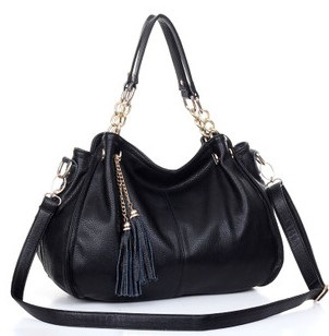 black leather big or small size