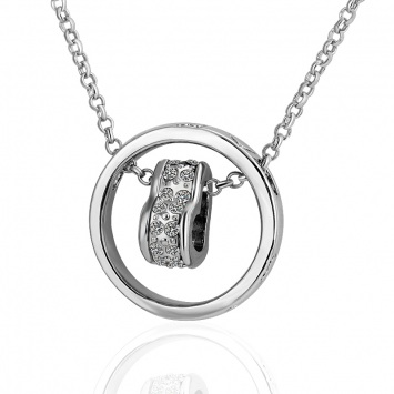 white-gold-necklace -WGN026