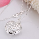 SSN003-925 Sterling Silver Necklace