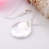 SSN001-925 Sterling Silver Necklace