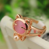 RGR011-18k Rose Gold Plated Ring
